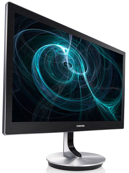 Samsung показала новый PLS монитор