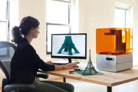 Домашний 3D принтер Formlabs Form 1 сможет похвастаться высокой точностью!