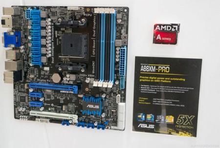 Asus показала новую плату A88XM Pro