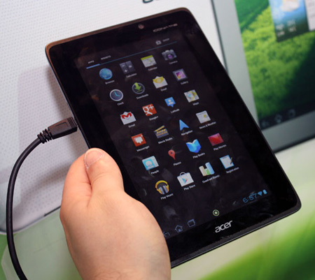 Новые планшеты Acer   Iconia Tab A110 и Iconia Tab A210