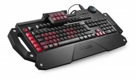 Delux T21   новая геймерская клавиатура от Delux Technology