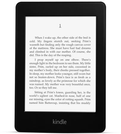 Amazon представил свою новую электронную книжкe Kindle Paperwhite