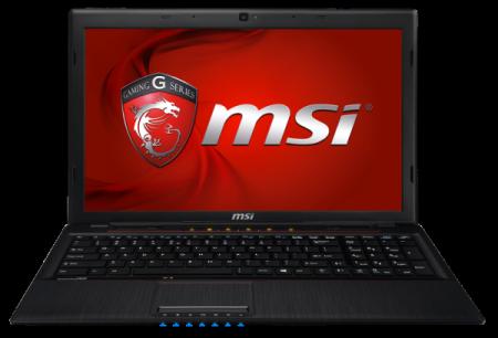 MSI GP60   игровой ноутбук с графикой GeForce GT 740M
