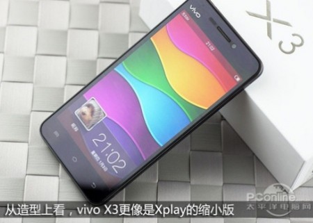 Vivo X3   смартфон на SoC MediaTek MT6589T