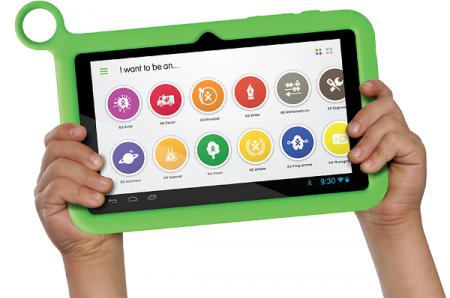 XO Tablet   детский планшет с резиновым чехлом