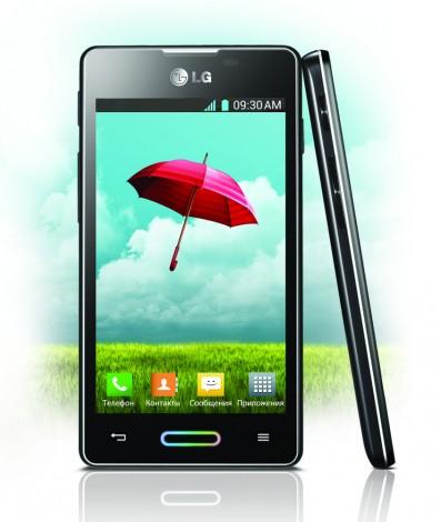 LG Optimus L5 II   новый смартфон в России