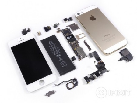 iFixit разобрали Apple iPhone 5s