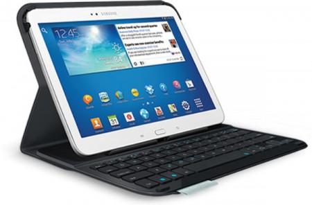 Logitech выпустила обложку с клавиатурой для Galaxy Tab 3