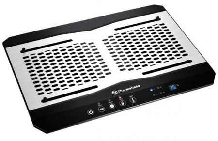 Thermaltake Massive TM   подставка для ноутбука с датчиками и вентиляторами