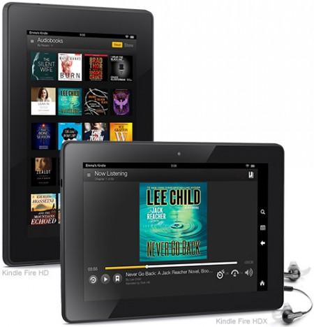 Новый 7 дюймовый планшет Amazon Kindle Fire HDX c разрешением Full HD