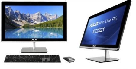 Asus ET2321   новый моноблок с сенсорным 23 дюймовым экраном