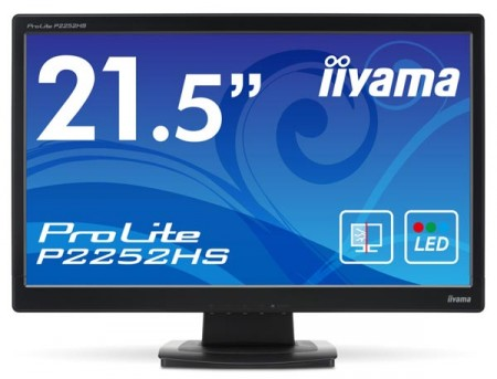 iiyama ProLite P2252HS   монитор со стеклянной защитой экрана