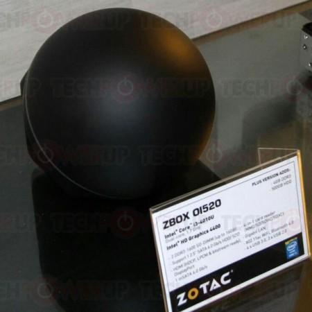 Zotac Zbox O1520   мини ПК на Core i3 в виде сферы