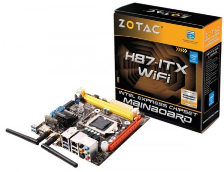 Zotac H87 ITX WiFi   новая плата формата Mini ITX